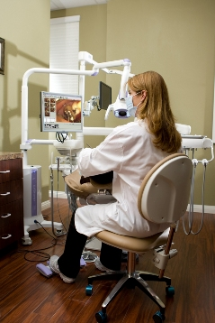 Reducing eye strain as well as neck and back pain for dentists.